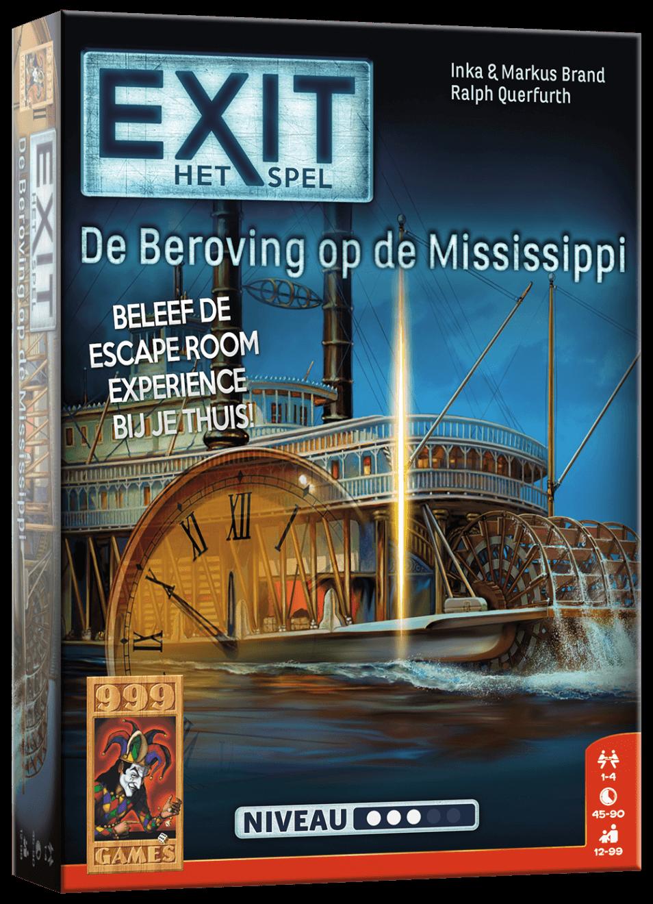 EXIT - De beroving op de Mississippi - Breinbreker