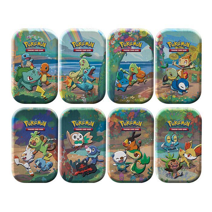 Pokemon: Celebrations Mini Tins - Set van 8