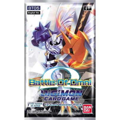 Digimon Card Game - Battle Of Omni - Booster