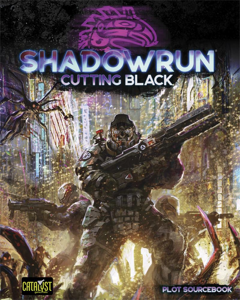 Shadowrun Cutting Black