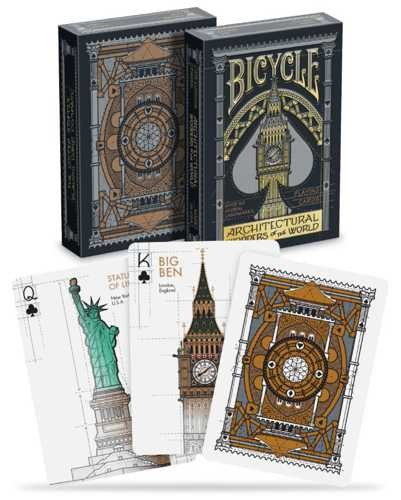 Pokerkaarten Bicycle Architectural Premium