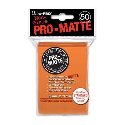 Sleeves: Pro-Matte Orange