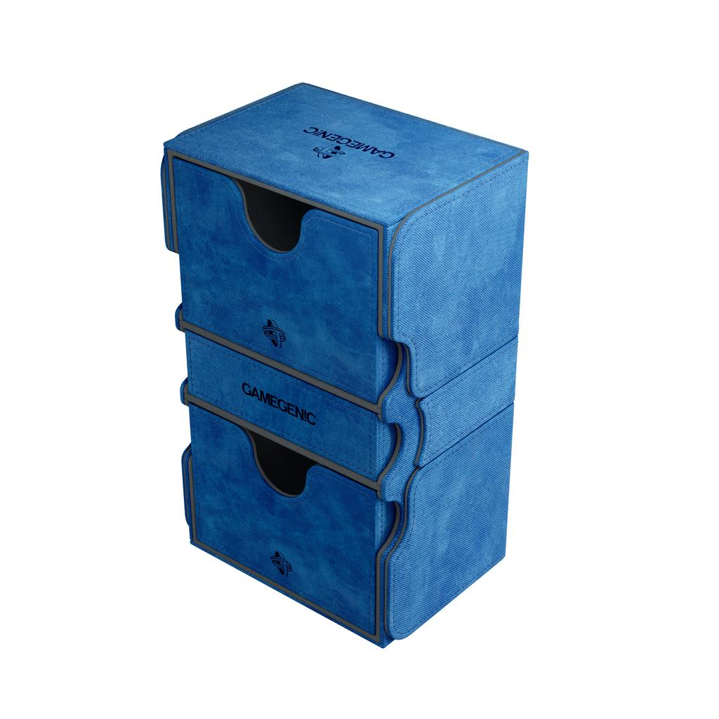 Deckbox: Stronghold 200+ Convertible Blue