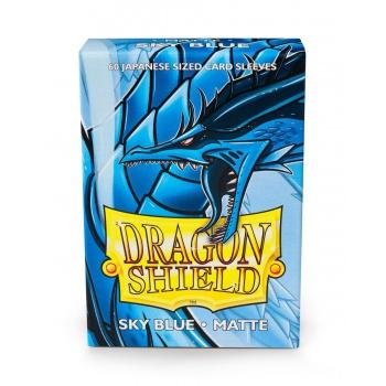 Dragon Shield Small Sleeves - Japanese Matte Sky Blue (60 Sleeves)