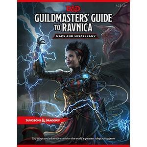 D&D Guildmaster's Guide to Ravnica Map Pack