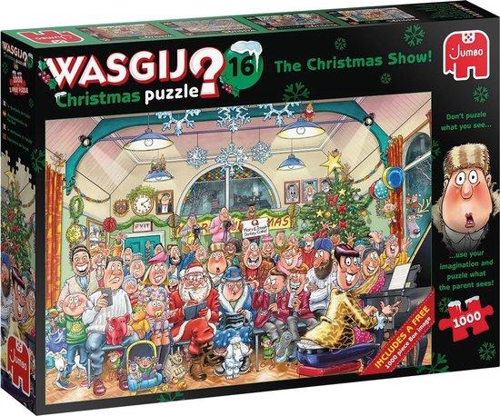 Wasgij Christmas 16 - De Kerstshow (2 X 1000)