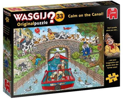 Wasgij Original 33 - Kalm op Het Kanaal! (1000)
