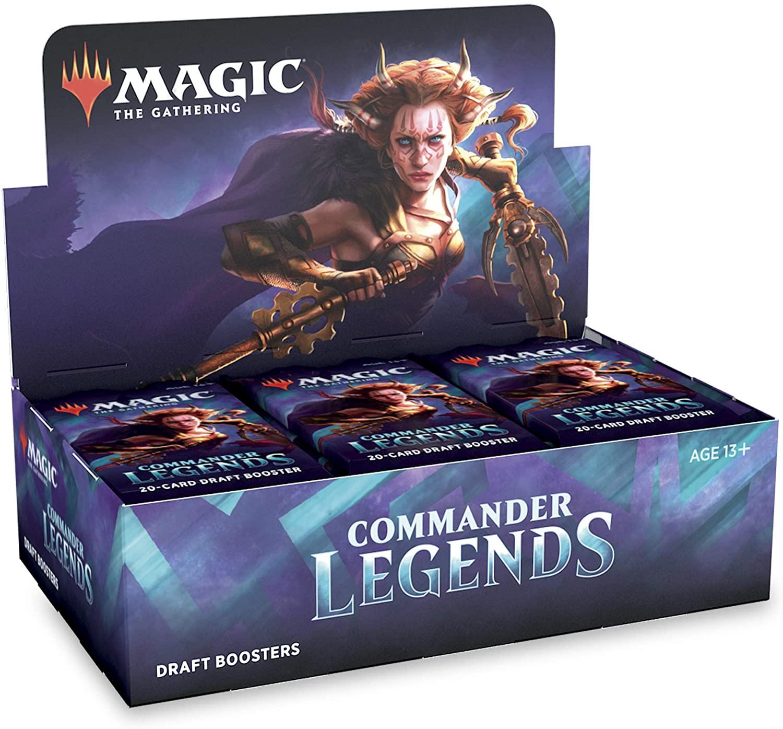 Magic: Commander Legends - Draft Boosterbox