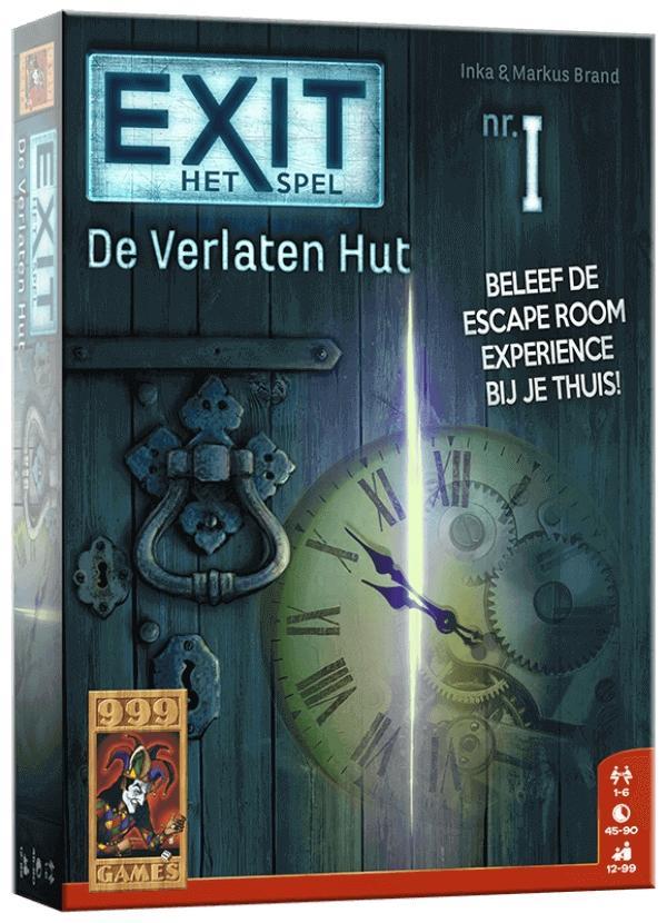 EXIT - De Verlaten Hut Bordspel