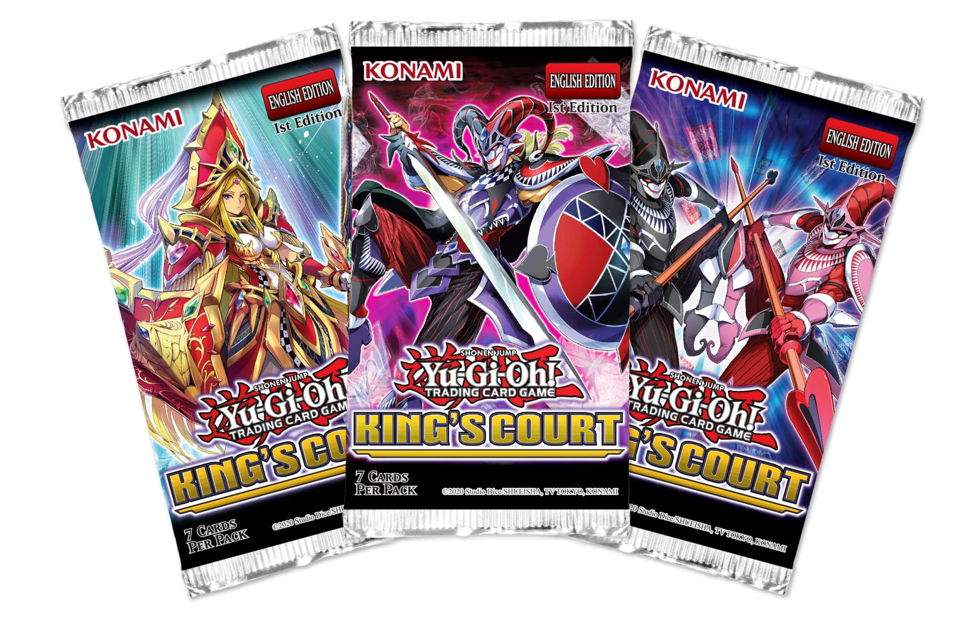 Yu-Gi-Oh: King's Court - Booster