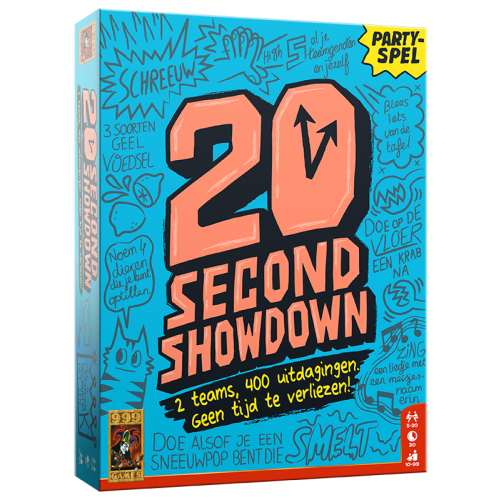 20 Second Showdown - Bordspel