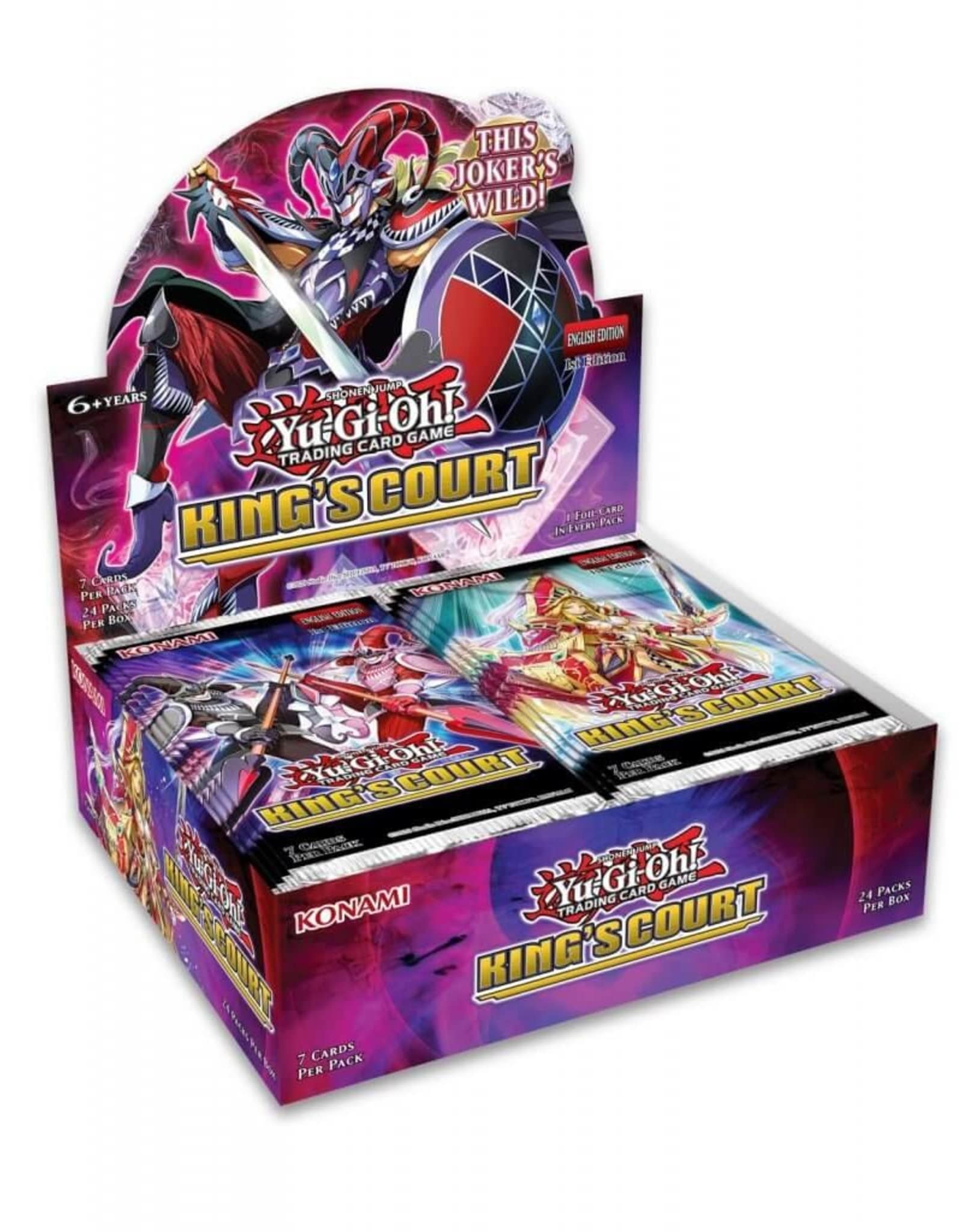 Yu-Gi-Oh: King's Court - Boosterbox (1st Edition)