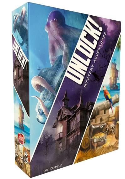 Unlock 2! Mystery Adventures - English