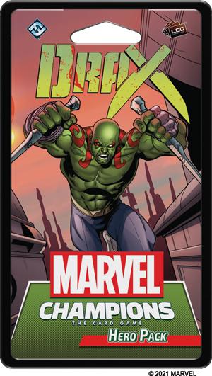 Marvel LCG Champions Drax Hero Pack