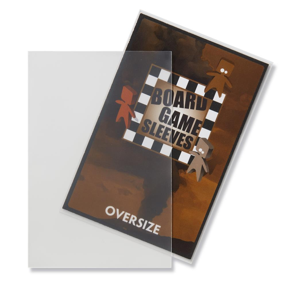 Sleeves: Non-Glare Board Game - Oversize (82x124mm)