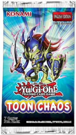 Yu-Gi-Oh: Toon Chaos - booster
