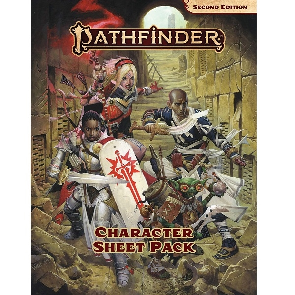 Pathfinder Second Edition Character Sheets