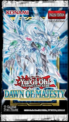 Yu-Gi-Oh: Dawn of Majesty - Booster