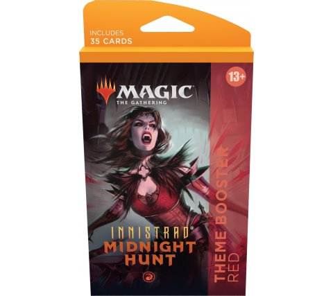 Magic: Innistrad Midnight Hunt - Theme Booster: Red