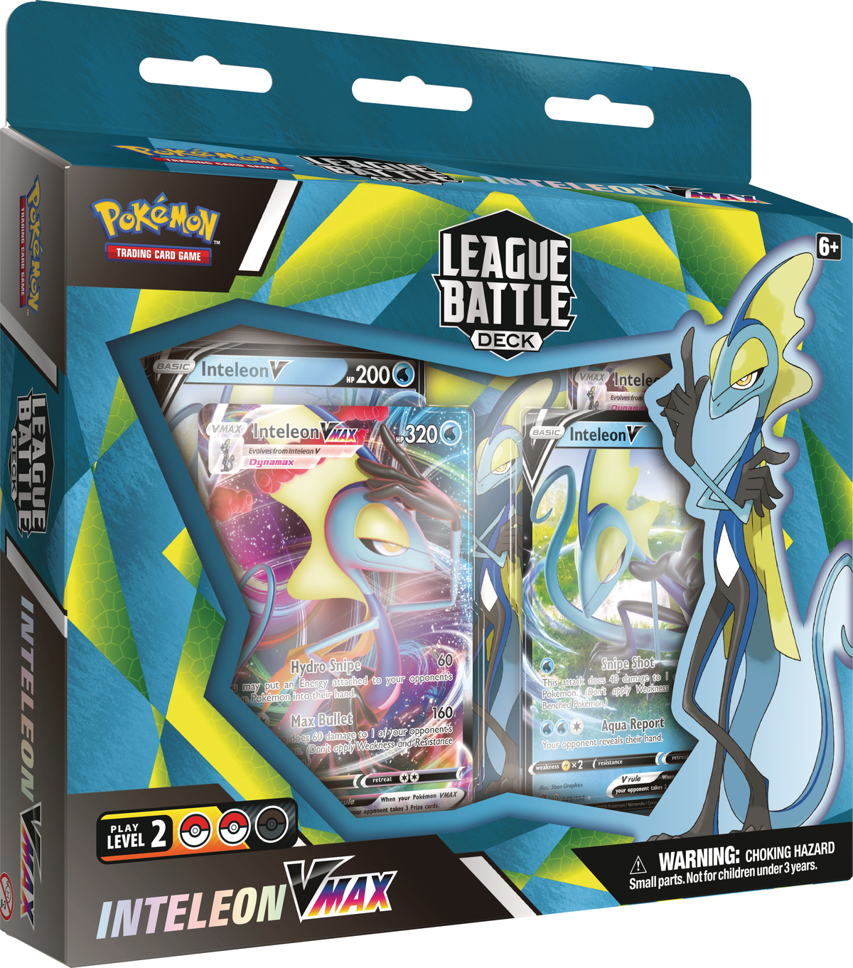 Pokemon: Inteleon VMAX League Battle Deck