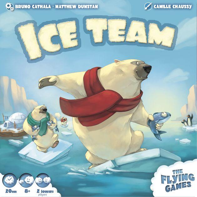 Ice Team - Bordspel