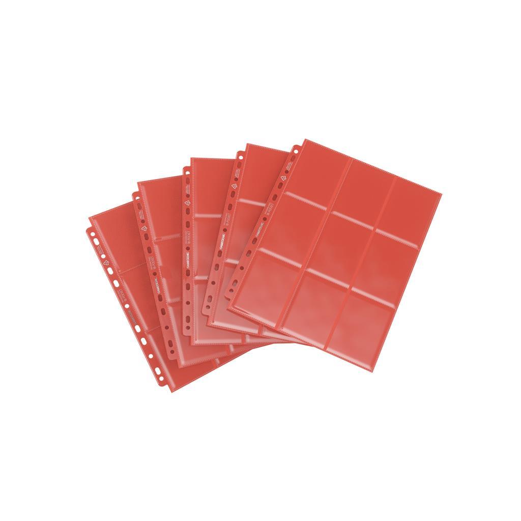 Sideloading 18-Pocket Pages Pack Red (10)