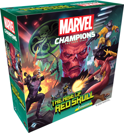 Marvel LCG Champions The Rise of Red Skull Expansion