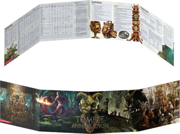 D&D Tomb of Annhilation DM Screen