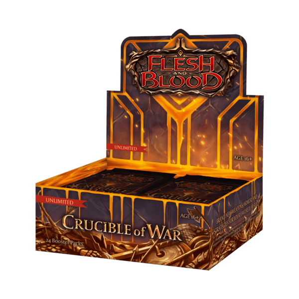 Flesh & Blood TCG: Crucible of War Unlimited - Boosterbox
