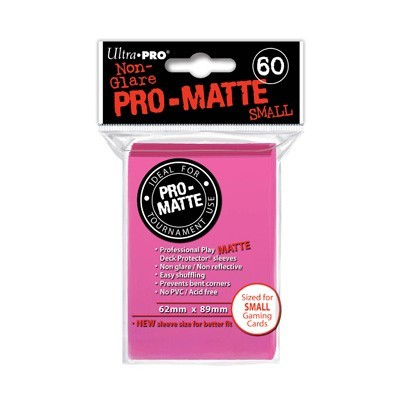 Sleeves: Pro-Matte Bright Pink Small