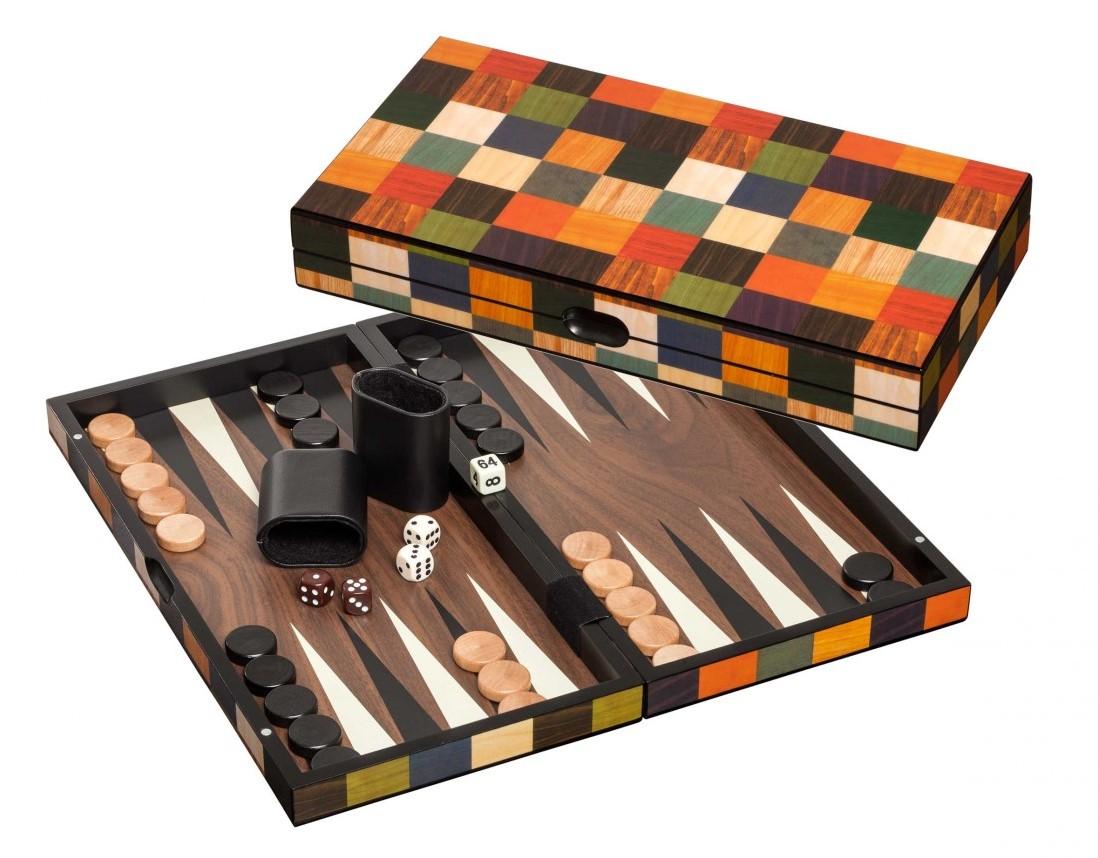 Backgammon Kassette Fourni Medium