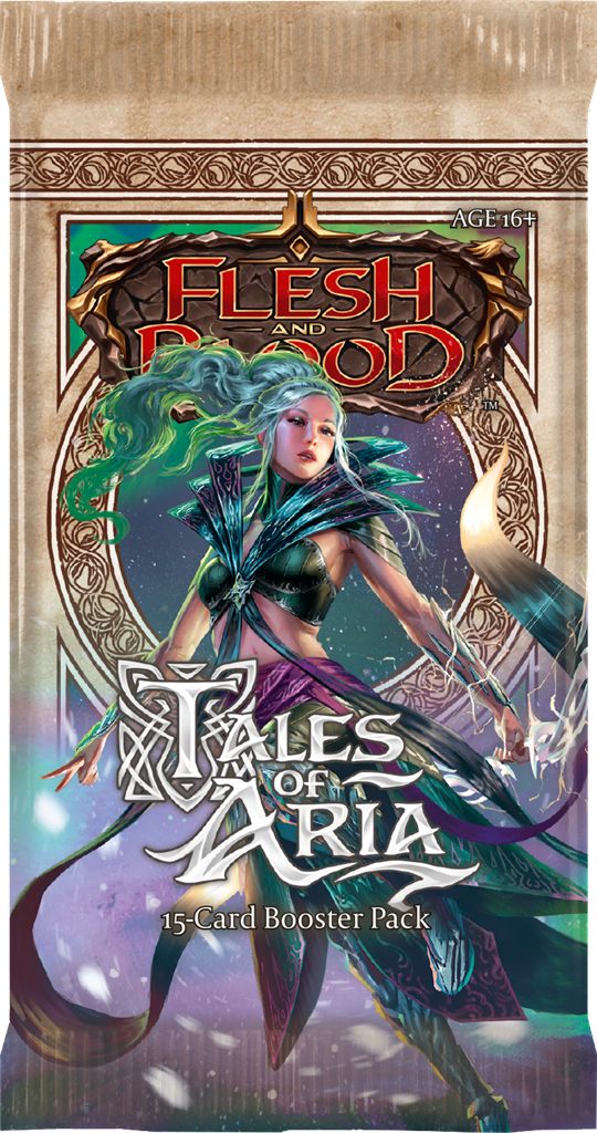 Flesh and Blood: Tales of Aria - First Edition Booster