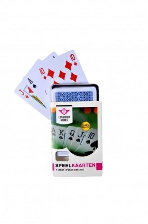 Speelkaarten Longfield 100% plastic