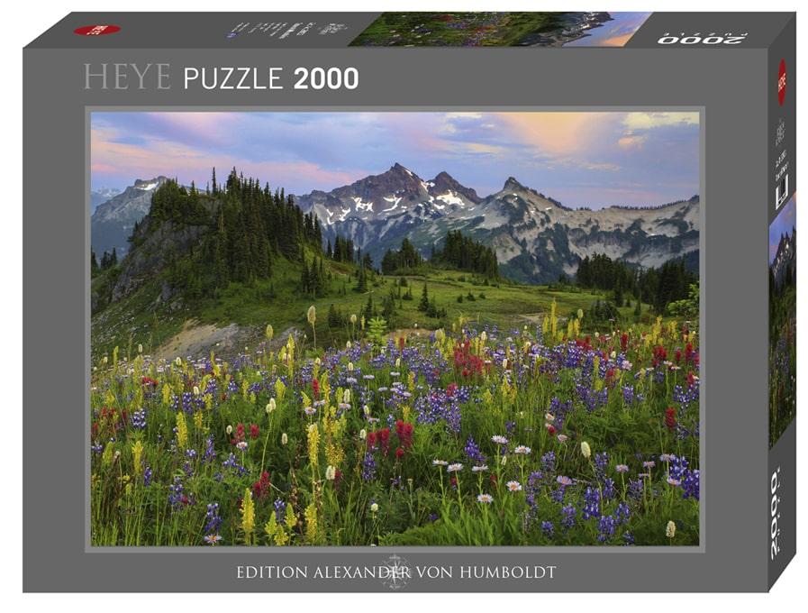 Puzzel Tatoosh Mountain - 2000 stukjes