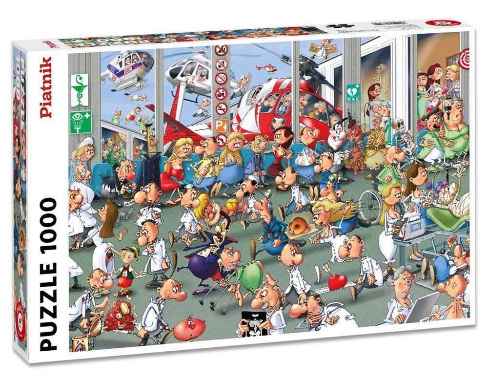 Puzzel Eerste Hulp, Comic - 1000 stukjes