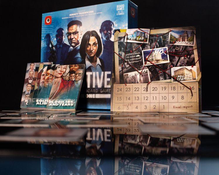 Detective A Modern Crime Board Game Season One