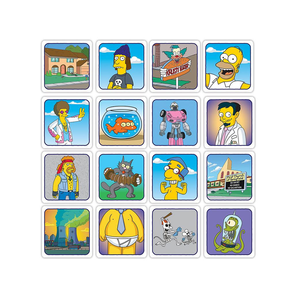 Codenames The Simpsons