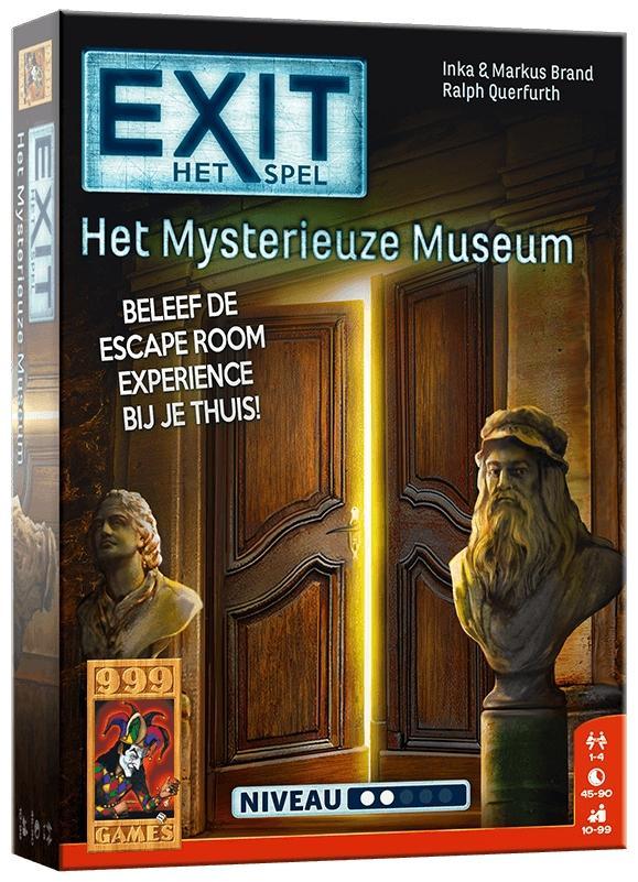 EXIT - Het Mysterieuze Museum - Bordspel