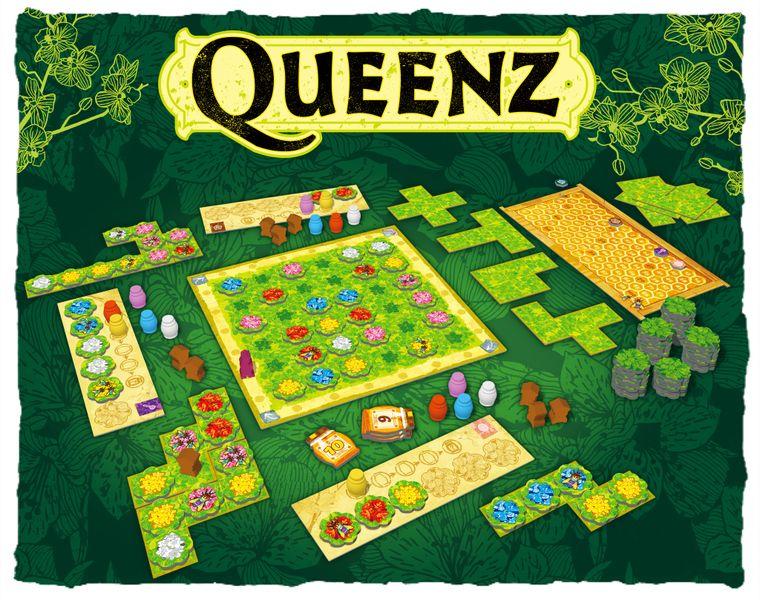 Queenz: To bee or not to bee - Bordspel