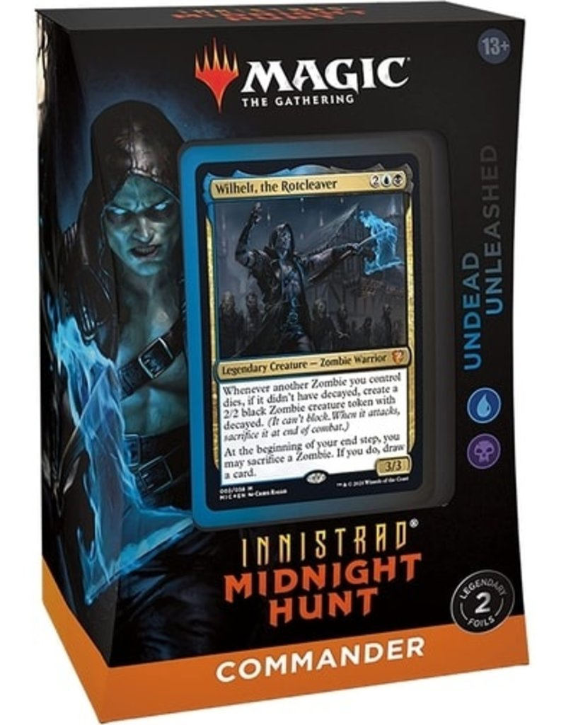 Magic: Innistrad Midnight Hunt Commander Deck - Undead Unleashed