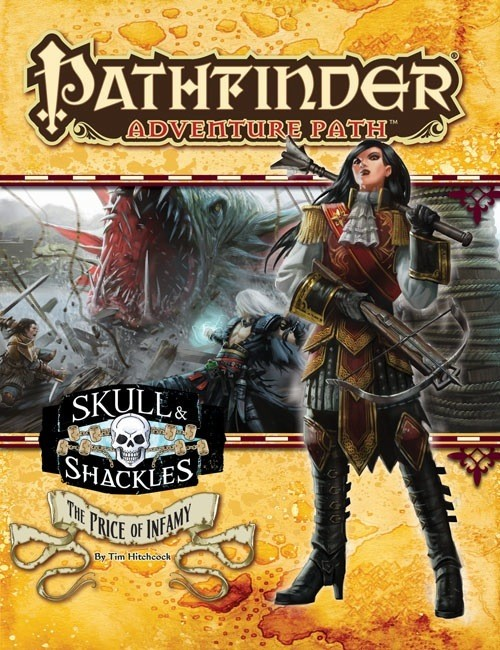 Pathfinder: The Price of Infamy (Skull & Shackles 5 of 6)
