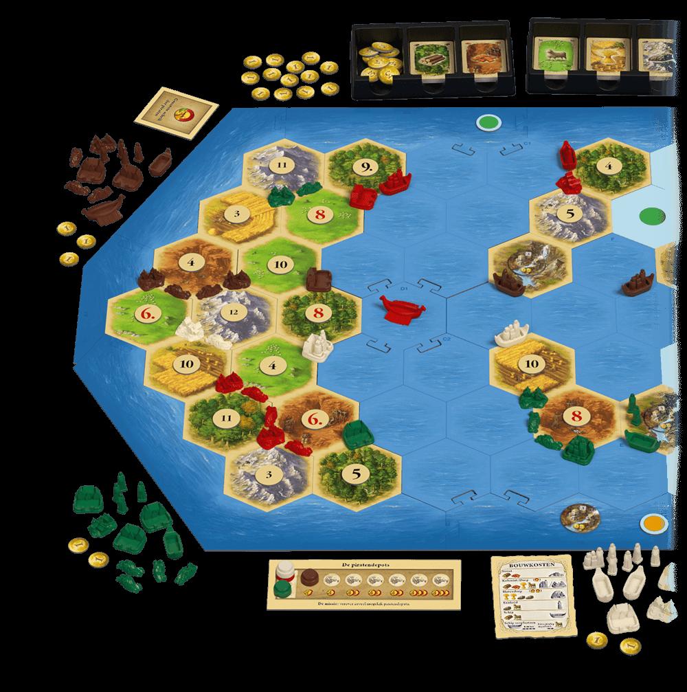 Catan: Piraten & Ontdekkers 5/6 spelers - Bordspel