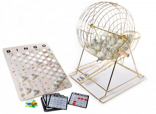 Bingomolen groot koper 50 cm (75 ballen)