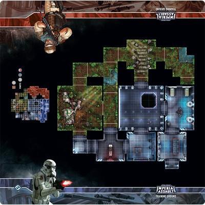 Star Wars: Imperial Assault Skirmish Map Training Ground