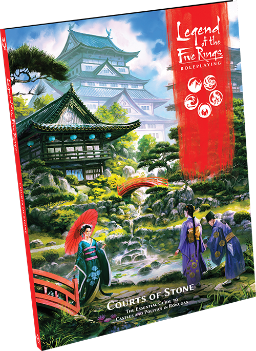 Legend of the Five Rings RPG Courts of Stone