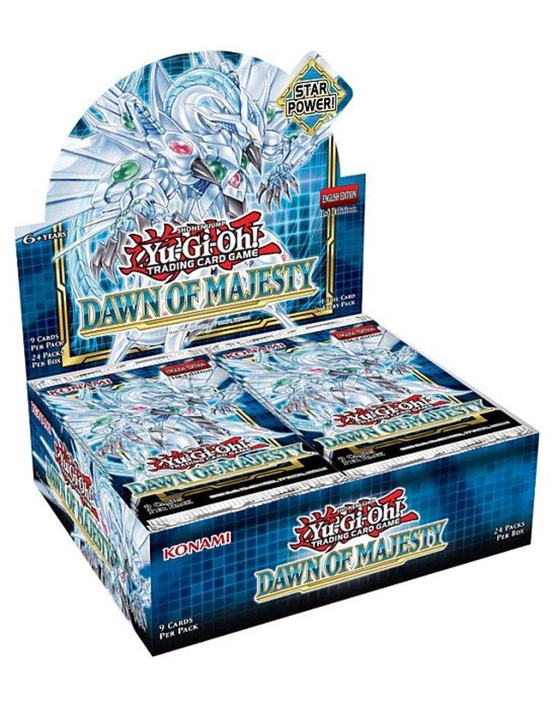 Yu-Gi-Oh: Dawn of Majesty - Boosterbox (1st Edition)