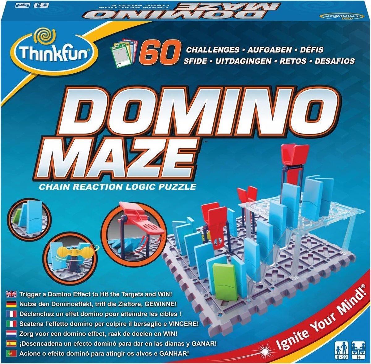 Domino Maze - Breinbreker