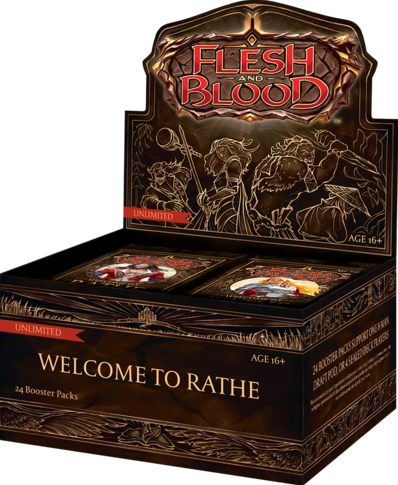 Flesh & Blood: Welcome to Rathe Unlimited - Boosterbox