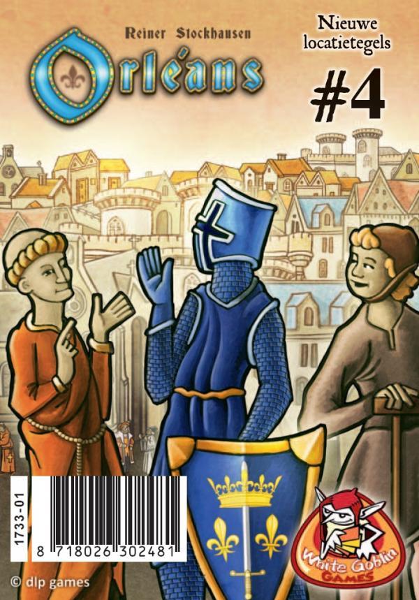 Orléans: Locatietegels 4 (burgerhuis, sluis, sterrenwacht)
