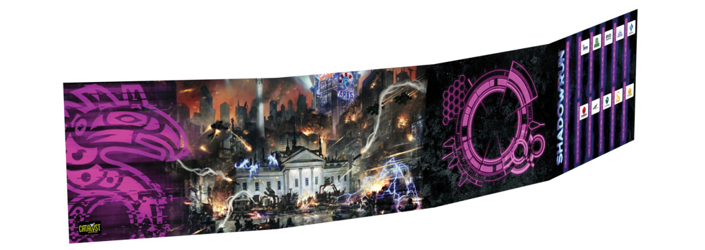 Shadowrun Sixth World Gamemaster Screen
